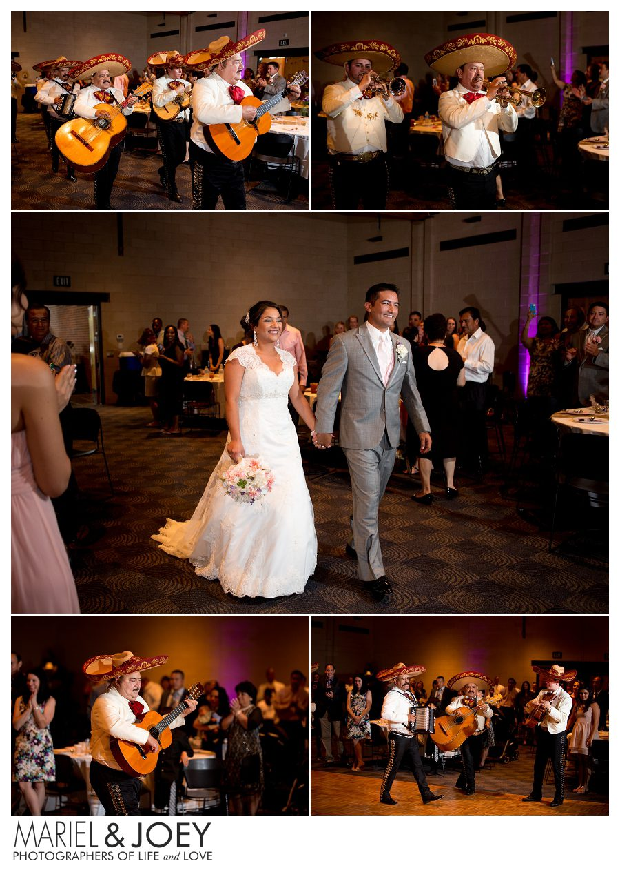 wedding reception at addison event center perla and erick