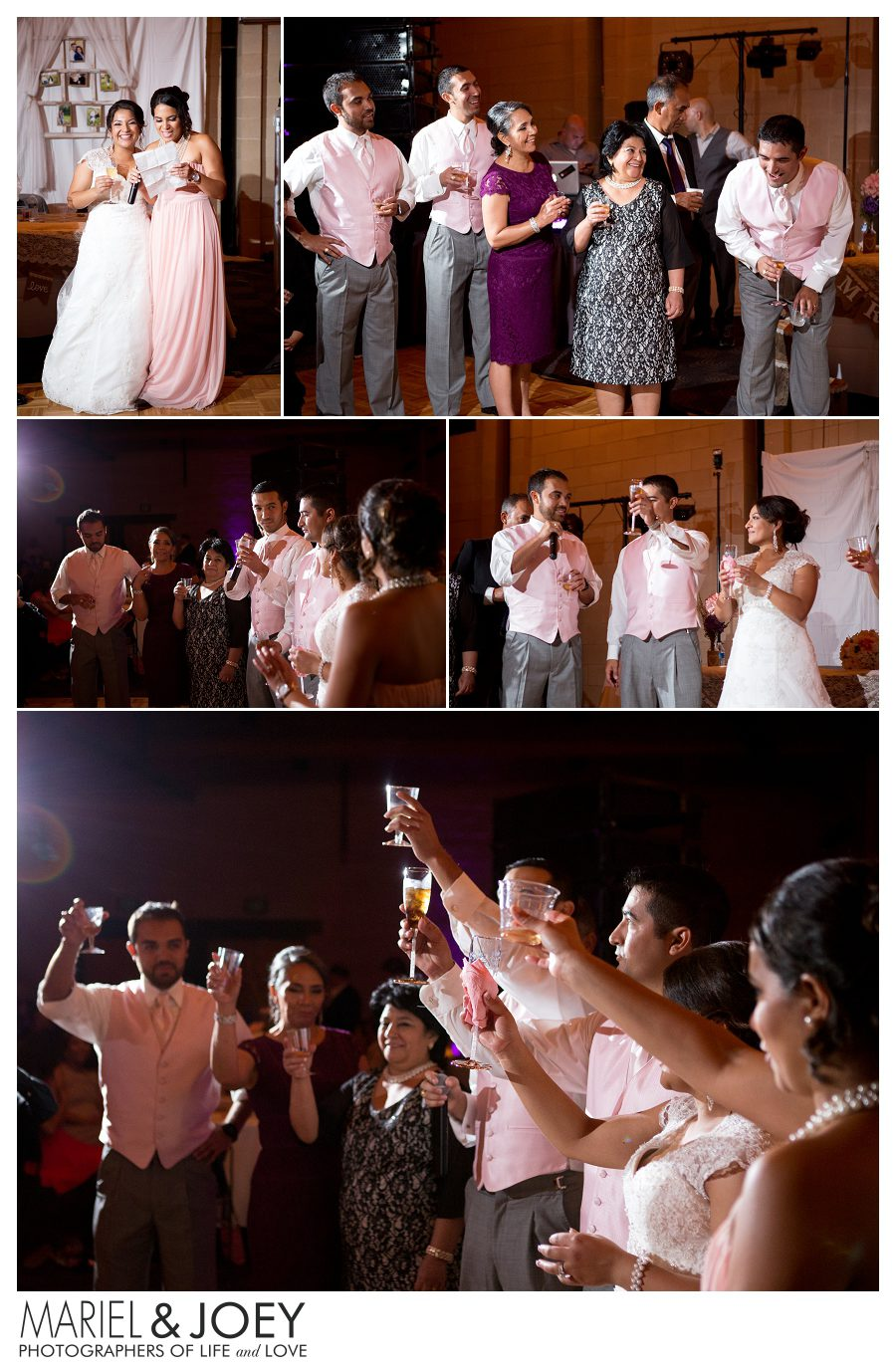 wedding reception at addison event center perla and erick 11