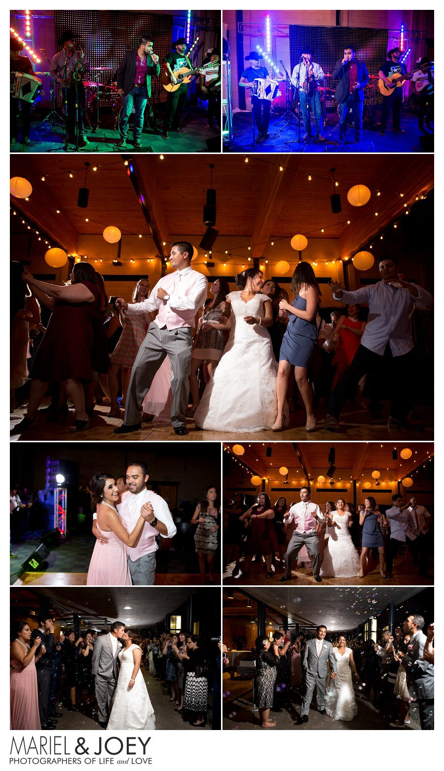 wedding reception at addison event center perla and erick 12