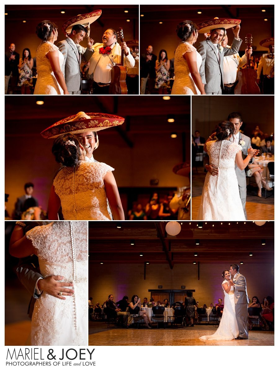 wedding reception at addison event center perla and erick 2