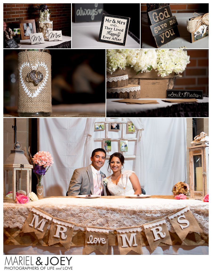 wedding reception at addison event center perla and erick 3