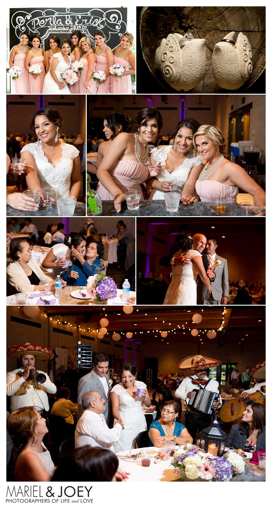 wedding reception at addison event center perla and erick 5