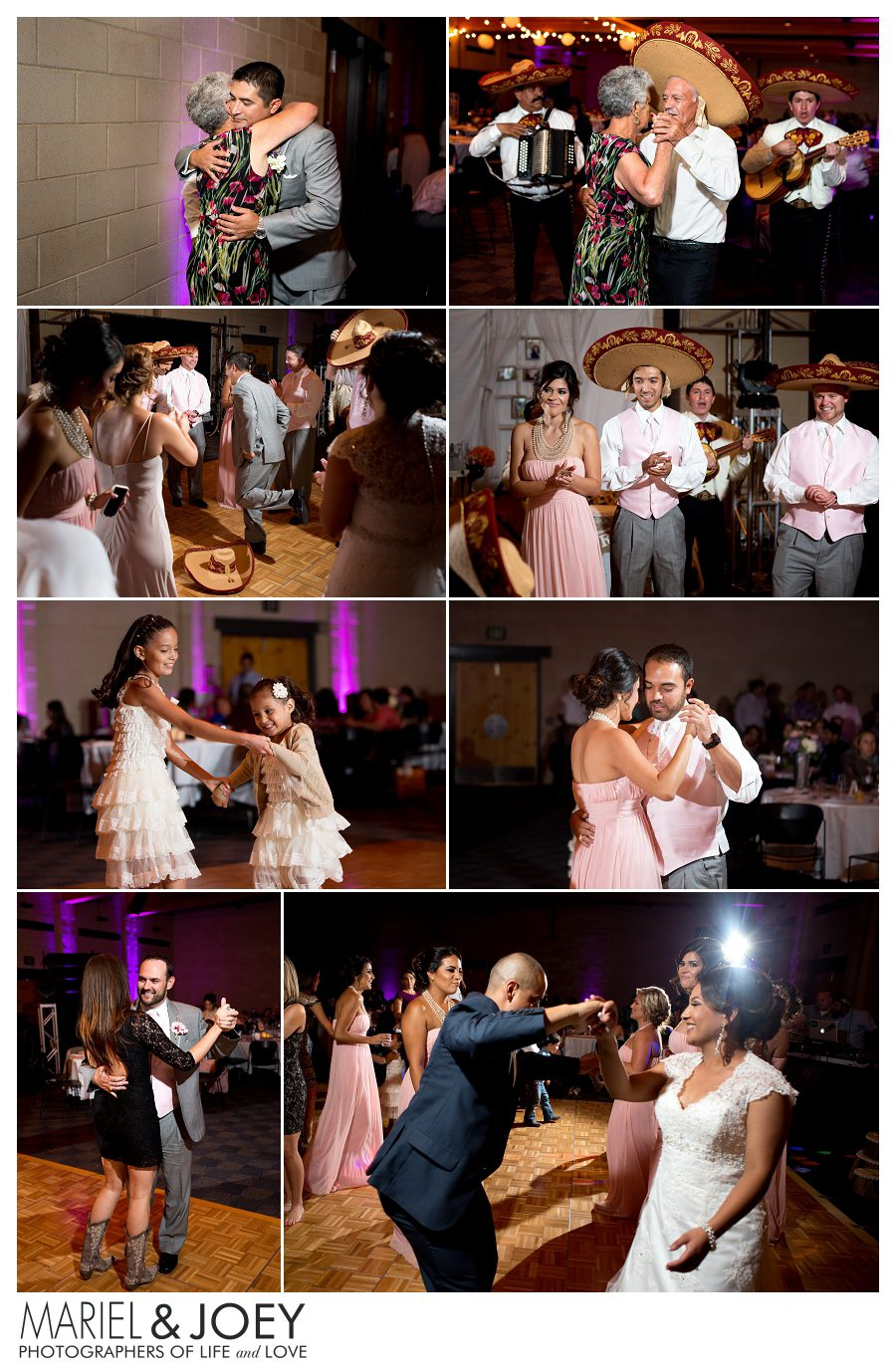 wedding reception at addison event center perla and erick 6