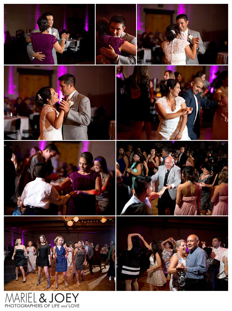 wedding reception at addison event center perla and erick 7