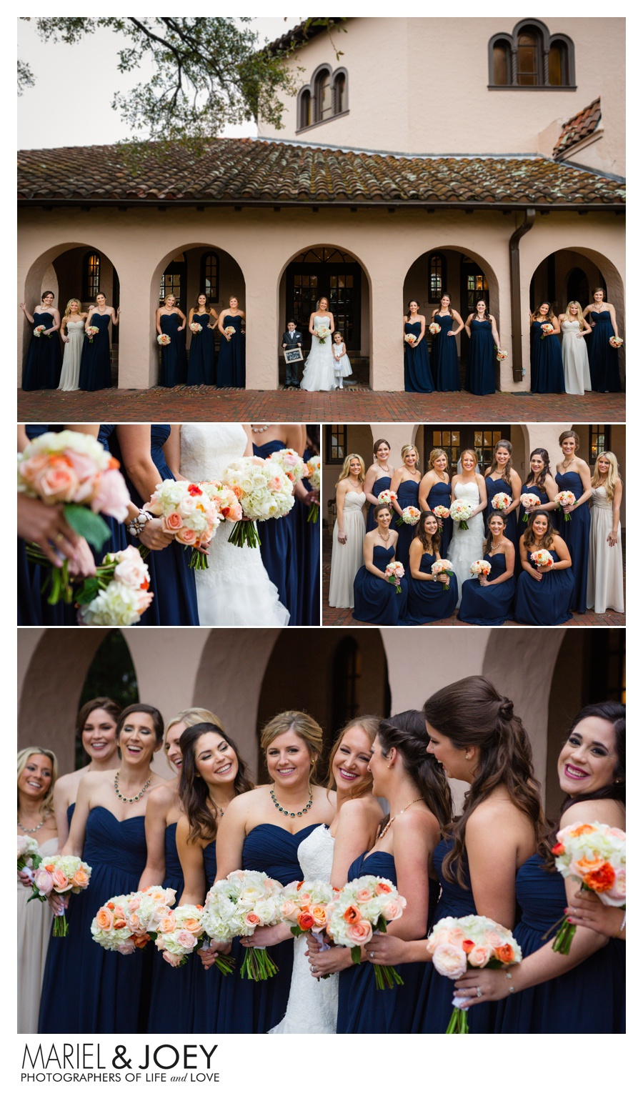 houston wedding at the parador houston amy and patrick husband and wife photographers mariel and joey photography