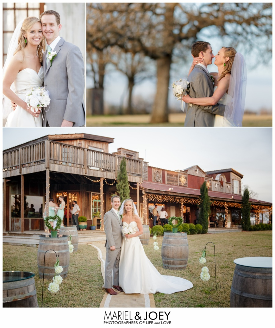 Kayla and Brad | Burleson Wedding at Modeana, Texas 5