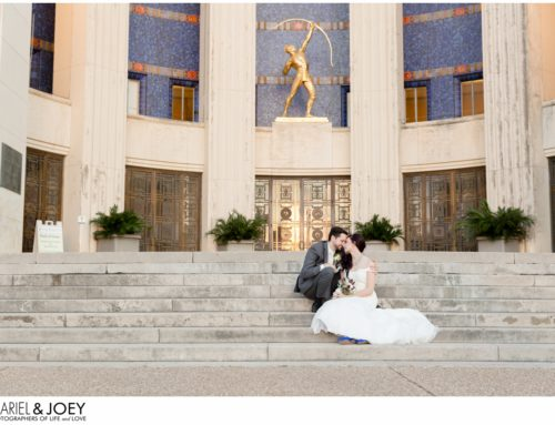 Husband and Wife Wedding Photographers | Dallas Wedding at the Hall of State in Fair Park