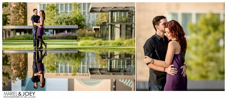 erin and james dallas engagement session klyde warren windspear arts district 3